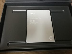 DELL NEW XPS 13説明書