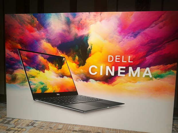 DELL CINEMA パネル