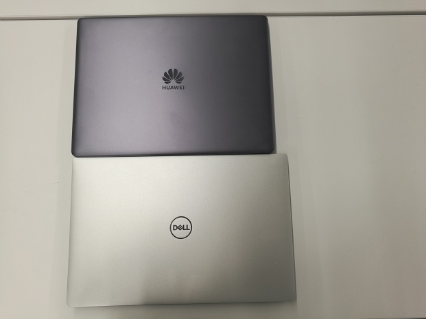 HUAWEI MateBook 13とDELL XPS 13の比較