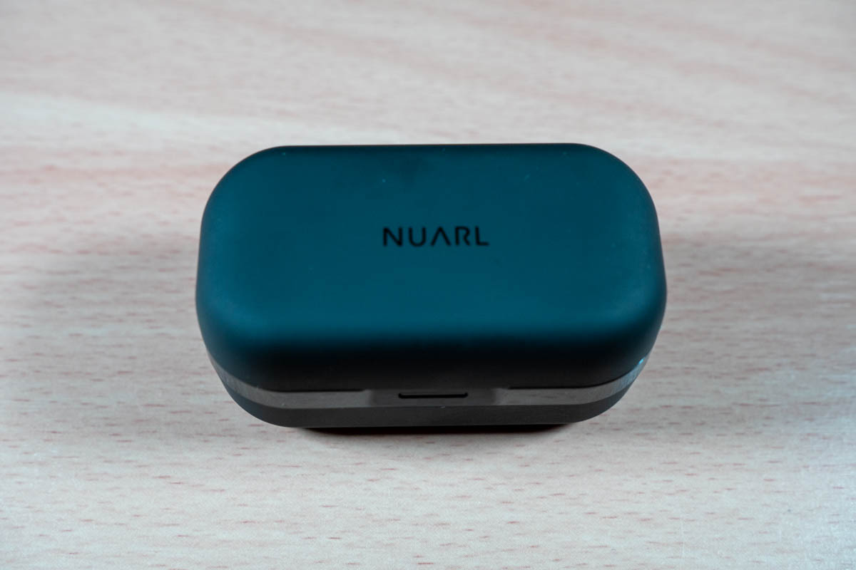 NUARL N6Pro2のイヤホンケース外観