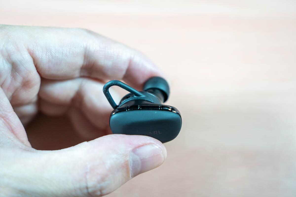 NUARL N6Pro2の操作ボタン