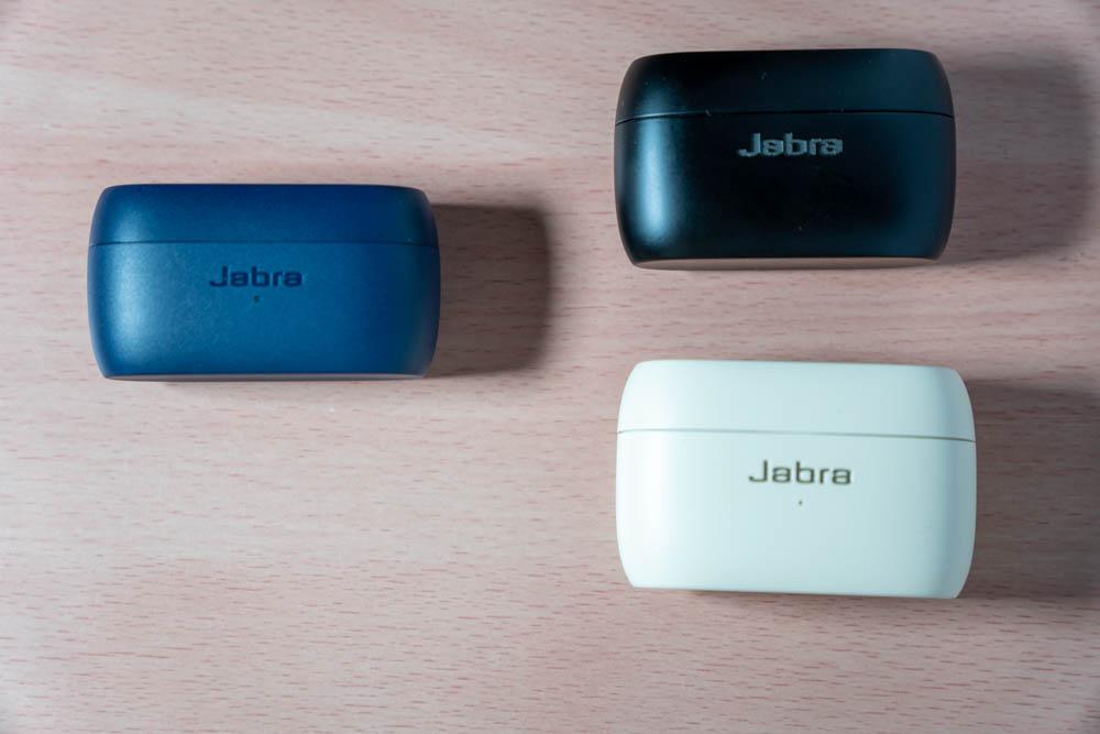Jabra Elite 3と他のJabra製品とのイヤホンケース比較